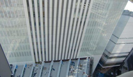 新市庁舎建設中